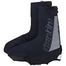 Santini 365 Neo Optic Waterproof Overshoe - Black, Small - Sp577neo Black Blacks -  santini 365 sp577neooptic waterproof overshoe black small blacks