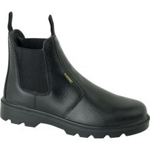 Delta Plus LH829 CAPPS Safety Work Dealer Boots Black (Sizes 7-12)