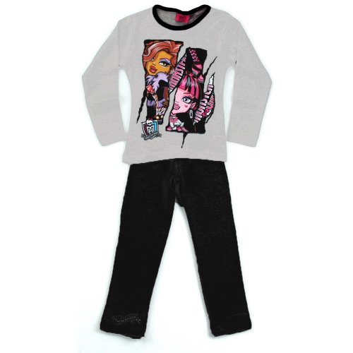 Monster High Pyjamas - Black/White
