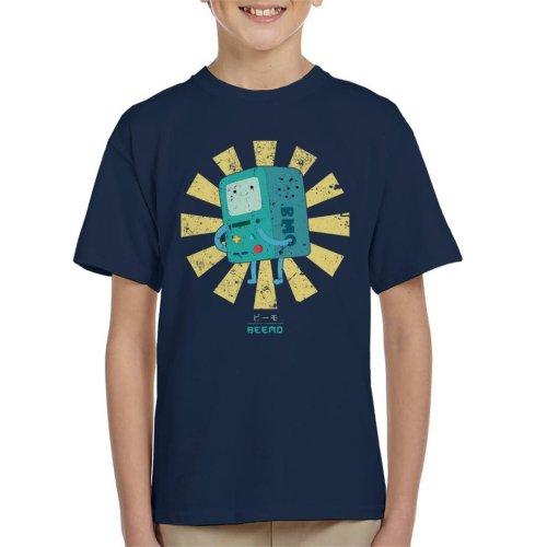Beemo Retro Japanese Adventure Time Kid's T-Shirt