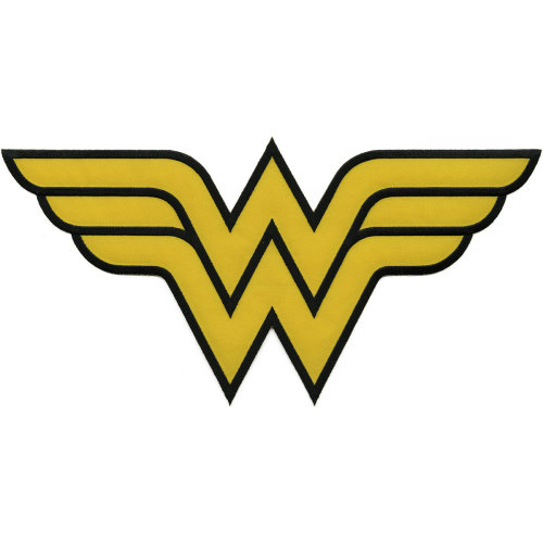 C&D Visionary DC Comics Patch-Wonder Woman Insignia 12""