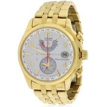 Citizen Eco-Drive Gold-Tone A-t Chronograph Ladies Watch FC0002-53A