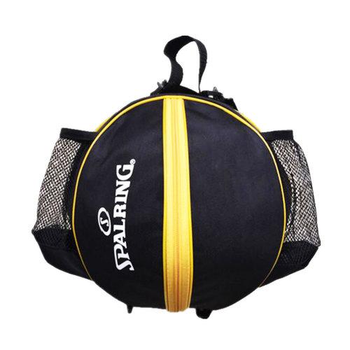 Fashion Cool Basketball Bag Training Bag Single-shoulder Soccer Bag-Black