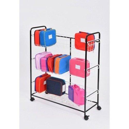 Single Budget Lunchbox Trolley (A1420) - Nursery, pre School, Early Years