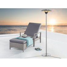 Electric patio heater - Free standing - Infrared - ETNA