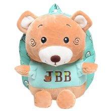 Children Shoulder Bag Cute Cartoon Bag Animals Kids Book Backpack Baby Girls School Bag,W
