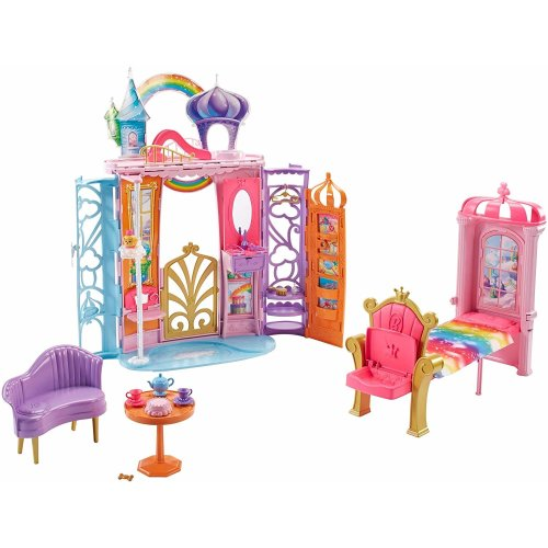 Barbie Dreamtopia Portable Castle Dollhouse