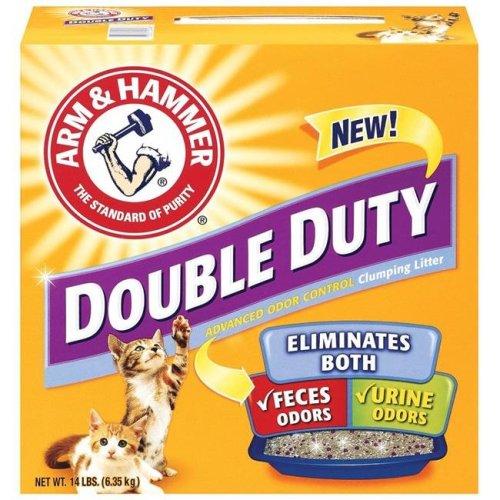 Arm & Hammer 33200021483 Double Duty Pet Clumping Litter