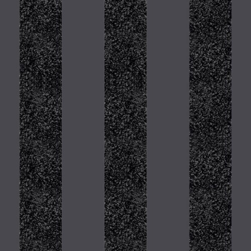 Arthouse Glitterati Stripe Pattern Wallpaper Modern Embossed Glitter Textured[BLACK 892500]