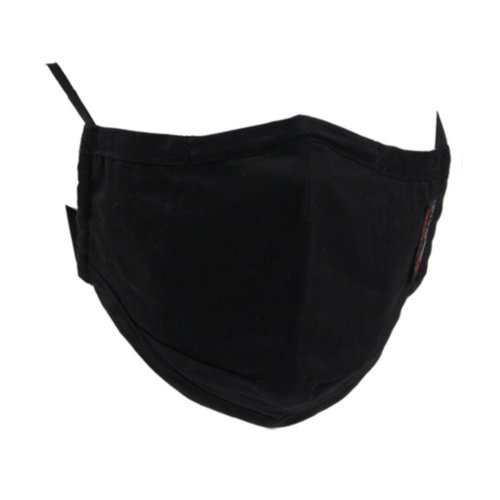 PM2.5 Anti-bacterial Fashionable Mouth Face Mask with Adjusters,Black