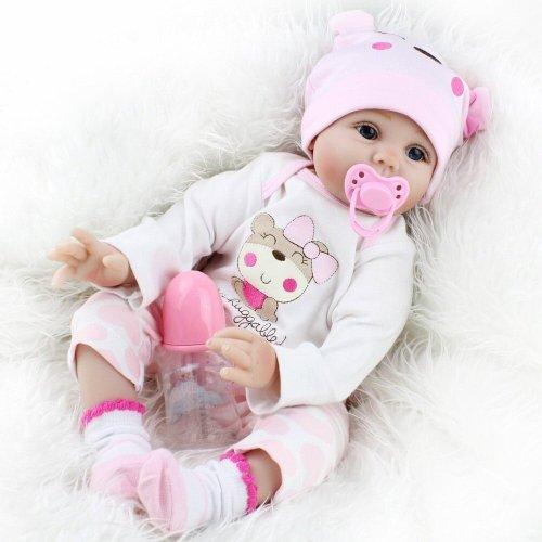 Kaydora Reborn Baby Dolls 22 Inch Adorable Cute Reborn Dolls Handmade Babies for Kids Toys