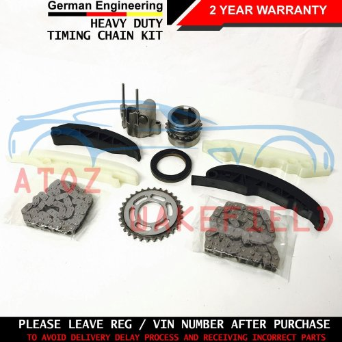 FOR BMW 118d 120d UPPER LOWER ENGINE TIMING CHAINS TENSIONERS GUIDES KIT 03-