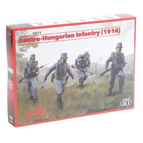 ICM 35673–1/35WW I österreichisch Hungarian Infantry 1914