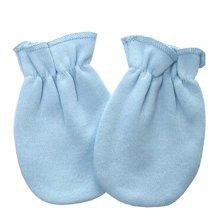 Warm Unisex-Baby Gloves Newborn Mittens Soft No Scratch Mittens, Blue