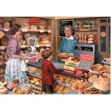 Falcon Deluxe Mrs Crompton's Bakery Jigsaw Puzzle (1000 Pieces)