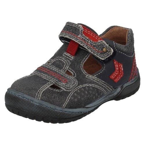 Boys Startrite Summer Shoes Scout - Navy Leather - UK Size 4G - EU Size 20 - US Size 5
