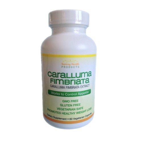Caralluma Fimbriata Natural Appetite Suppressant – 60 x 500mg Vegetarian Safe Capsules