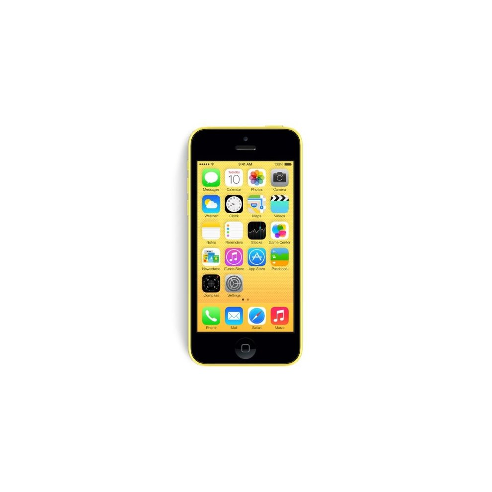 EE, 8GB Apple iPhone 5c Yellow