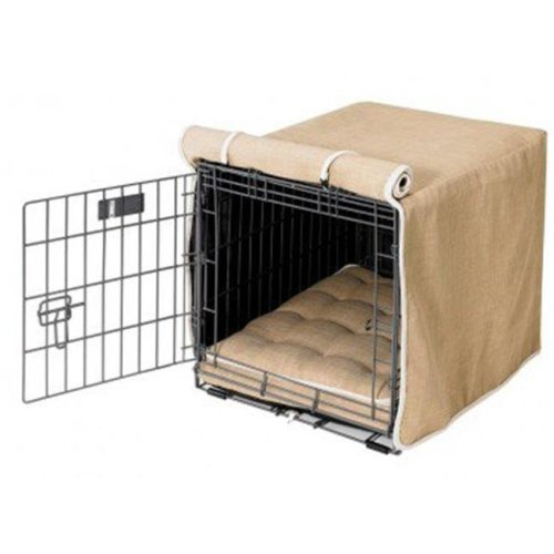 Bowsers Pet Products 10720 Small Flax Luxury Crate Cover