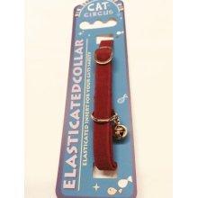 Velvet Cat Collar Assorted Colours