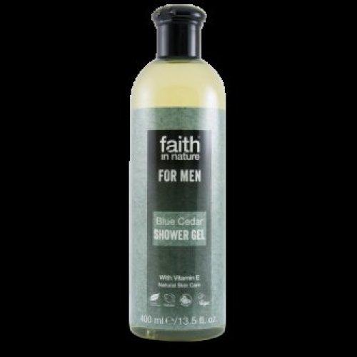 Faith In Nature - Faith For Men Blue Cedar SG/FB 400ml