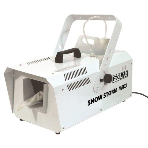 FX Lab 1200W Snow Machine with Wireless and Wired Remote
