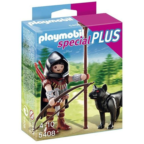 PLAYMOBIL Huntsman with Wolf Playset