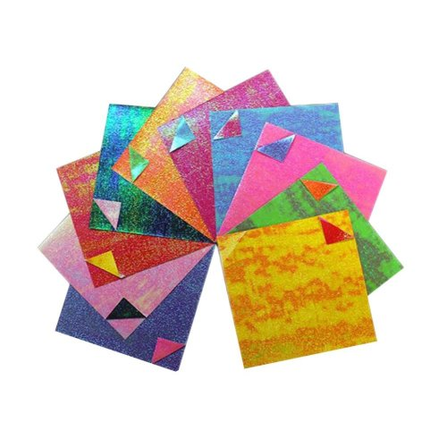 15X15 cm Double Sided Craft Folding Origami Papers - 50 Pieces