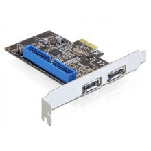 DeLOCK PCI Express Card/eSATA/IDE Internal eSATA,IDE/ATA interface cards/adapter