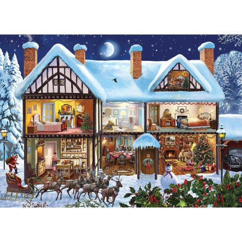 Gibsons Midnight Delivery Jigsaw Puzzle (1000 Pieces)