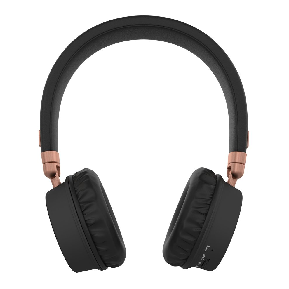 83a7a0edef0869 ... KitSound Harlem Wireless Bluetooth On-Ear Headphones with Mic - Rose  Gold - 3 ...