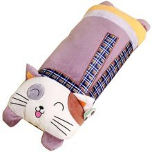 Cartoon Sleeping Pillow Doll Plush Doll Removable Washable Long Pillow[A]
