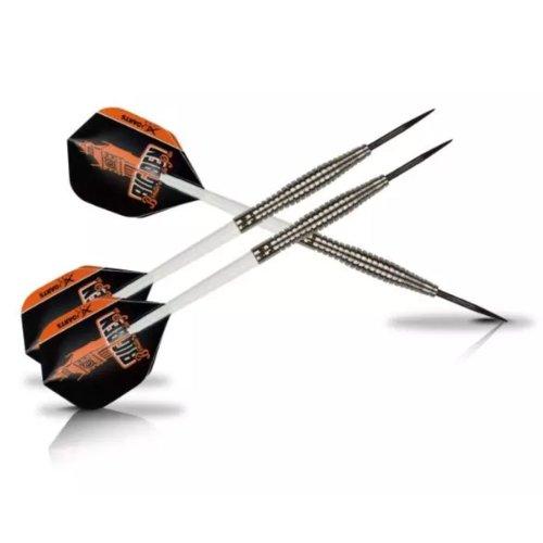 XQmax 3 Darts Target Flights BvdP 23g 90% Tungsten with Plastic Case QD1000250