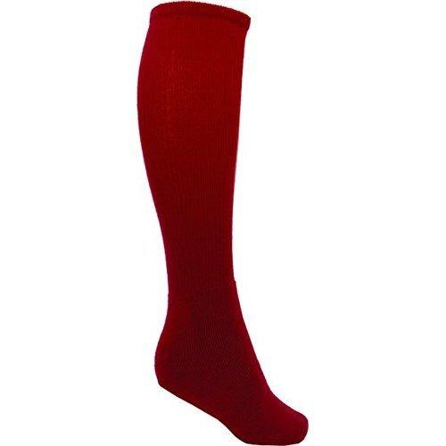 Vizari League Soccer Sock - Red, Adult Size