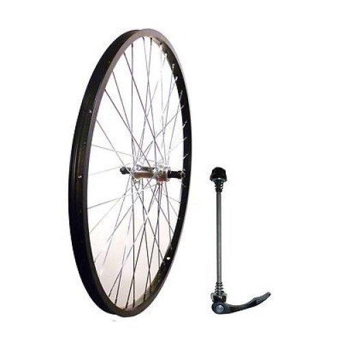 "26"" REAR Mountain bike Q/R BIKE WHEEL 5/6/7 SPEED  BLACK WITH SKEWER NEW"