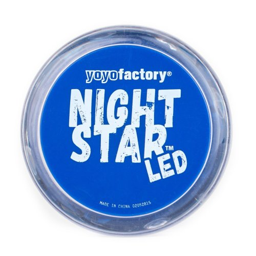 Yo-Yo NightStar LED Light Up Yoyo by Yoyo Factory - One supplied