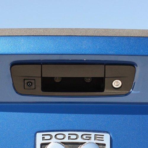 Vardsafe Tailgate Handle Replacement Rear View Reverse Backup Camera for Dodge Ram Pickup 1500 2500 3500 (2009-2018)