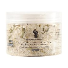 Reveal Naturals Dead Sea Bath Salts Crystals Chamomile