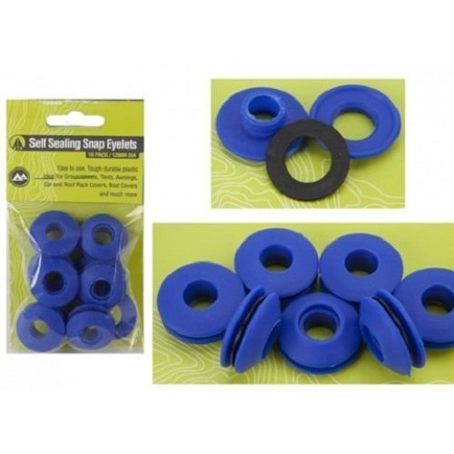 Summit Plastic Eyelets -  eyelets plastic snap 10 summit self sealing pack