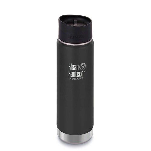 Klean Kanteen 592ml Wide Vacuum Insulated w/Caf? Cap 2.0 (Shale Black)