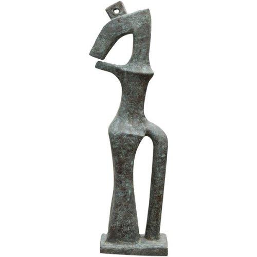 Modern Art Bronze Cast Sculpture W50xdp34xh175 Cm Sized