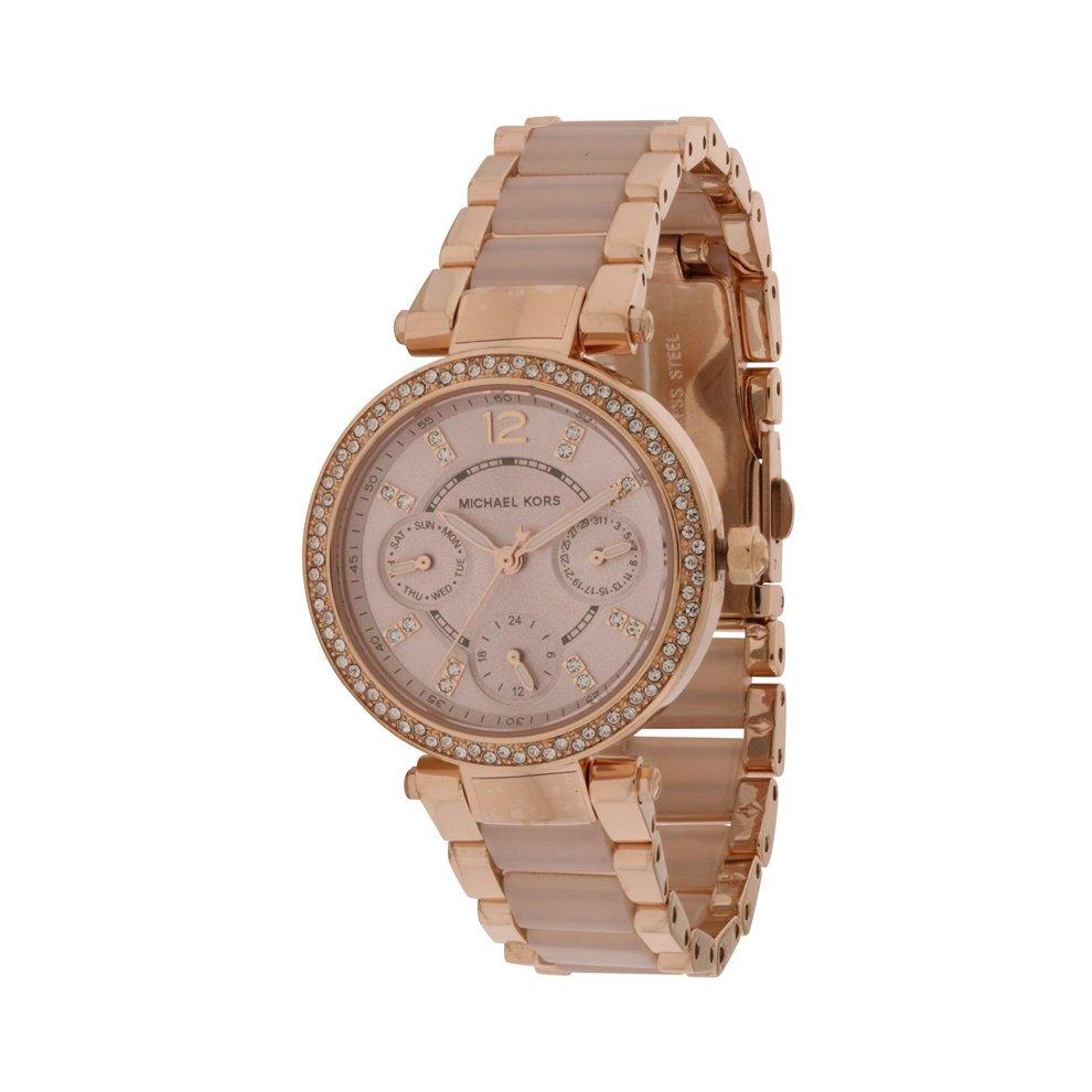 70fa2461f152 Michael Kors Mini Parker Rose Gold-Tone Ladies Watch MK6110 on OnBuy