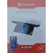 Mirror A4 150 Microns High Quality Laminating Pouches