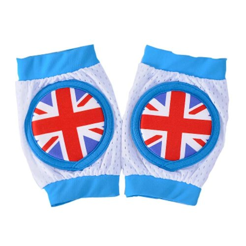 Creative English Flag Baby Crawling Protector Knee Pad