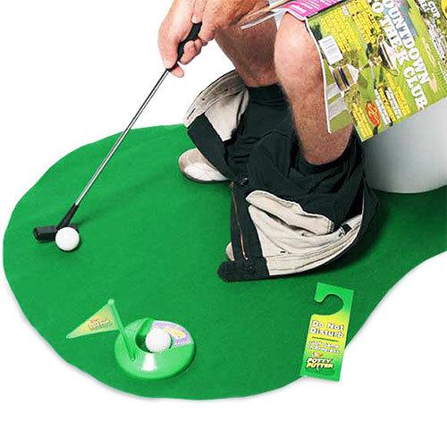 Toilet Golf Set