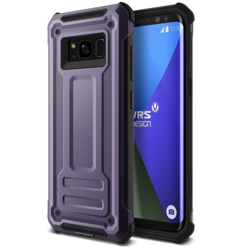 newest 38956 6d73a Galaxy S8 Case, VRS Design® [Orchid Grey] Ultimate Drop Protection Shock  Resistant Armour [Terra Guard] Premium Dual Material Layered Shockproof...