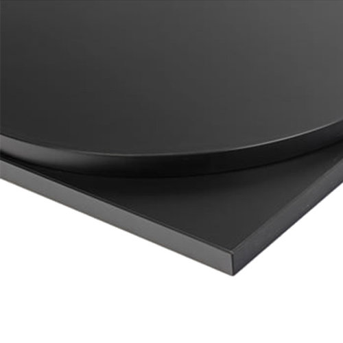 Taybon Laminate Table Top - Black Square - 800x800mm