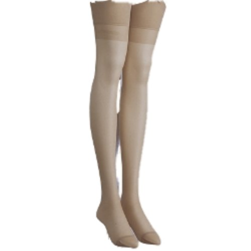 Trasparenze Sara All Sheer Stockings with Signature Logo (3 = 5ft 1in to 5ft 11in, Playa Beige)