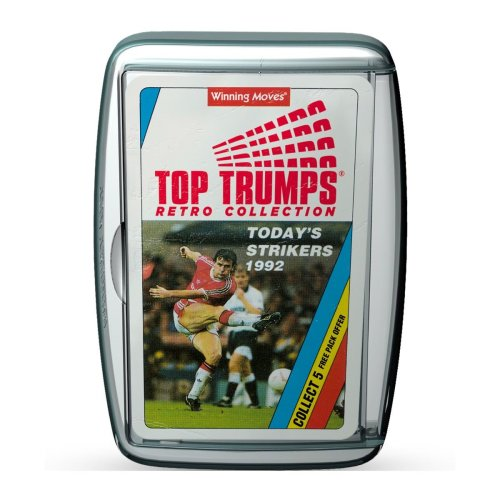 Today's Strikers Retro Football Top Trumps Card Game