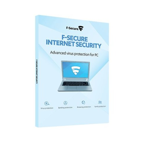 F-SECURE Internet Security 1year(s) Full license Multilingual for 5 users